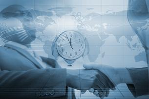 Global business agreementの写真素材 [FYI02233505]