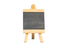 Black chalkboard with copy spaceの写真素材 [FYI02234684]