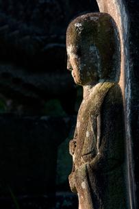 石仏の写真素材 [FYI02243325]