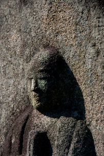 石仏の写真素材 [FYI02243416]