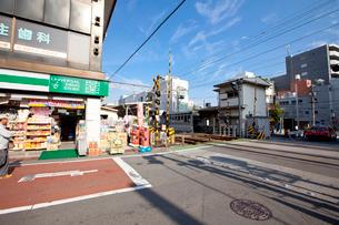 東あずま駅前通りの写真素材 [FYI02243552]