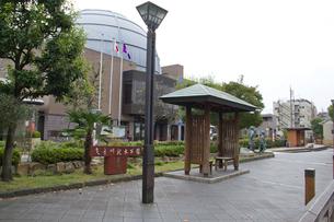 葛飾区 郷土と天文の博物館と曳舟川親水公園の写真素材 [FYI02244104]