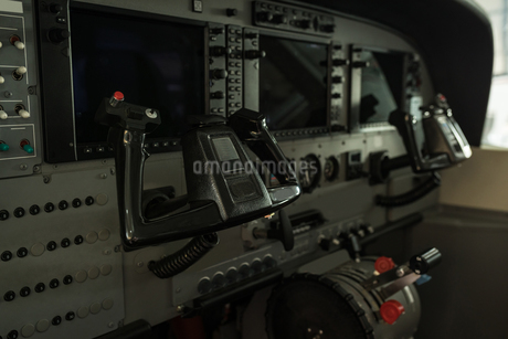 Interior of cockpit jetの写真素材 [FYI02244895]