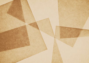Overlapping pieces of recycled paper.の写真素材 [FYI02247042]