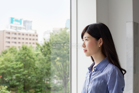 A working woman.の写真素材 [FYI02247735]