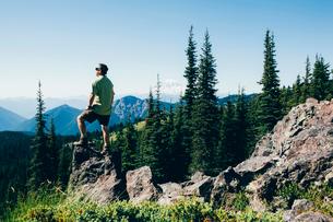 Goat Rocks Wilderness, Cascade Range, Washington, USAの写真素材 [FYI02249666]