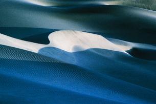 Mesquite Flat Sand Dunes at dawn.の写真素材 [FYI02252567]