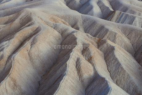 Zabriskie Point at dawn, Death Valley National Park, USA.の写真素材 [FYI02257303]