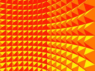 立体的に組まれてカーブするブロック背景のイラスト素材 [FYI02262416]