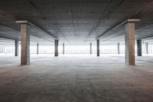 An empty raw business space ready for occupancy.の写真素材 [FYI02264358]