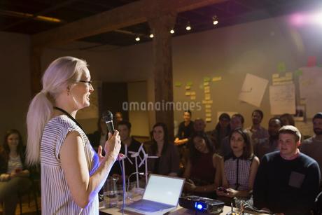 Speaker leading presentationの写真素材 [FYI02267871]