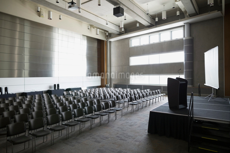 Empty auditoriumの写真素材 [FYI02277613]