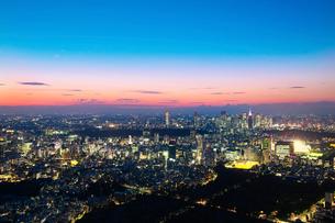 東京の夜景の写真素材 [FYI02278124]