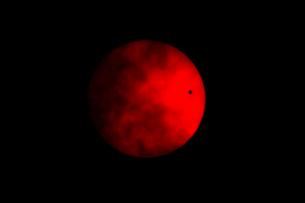 金星の太陽面通過の写真素材 [FYI02280613]