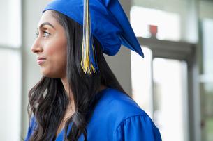 profile of female graduateの写真素材 [FYI02287873]
