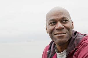 portrait of mature black american manの写真素材 [FYI02289824]