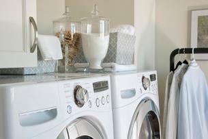 Organized laundry roomの写真素材 [FYI02291855]