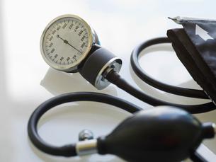 Blood pressure gaugeの写真素材 [FYI02292315]