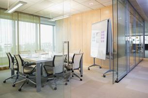Empty boardroomの写真素材 [FYI02292496]