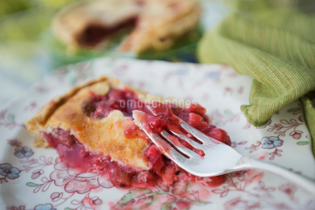 Fresh strawberry pieの写真素材 [FYI02293810]
