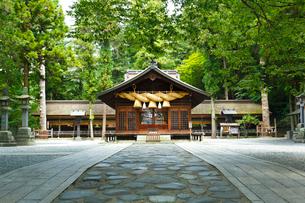 諏訪大社下社春宮・神楽殿の写真素材 [FYI02301744]