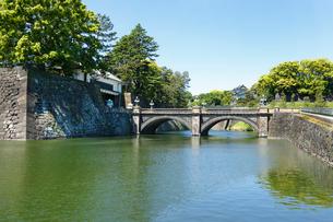 二重橋 皇居二重橋の写真素材 [FYI02301775]