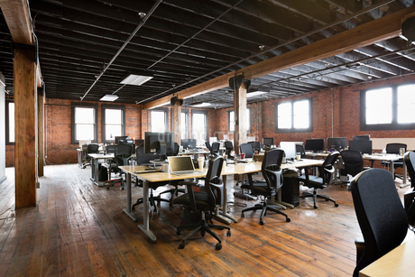 Interior of creative office spaceの写真素材 [FYI02303587]