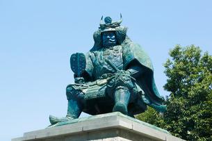 武田信玄公像の写真素材 [FYI02306268]