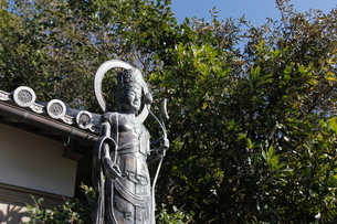 千里王子神社 千里王子の写真素材 [FYI02306351]