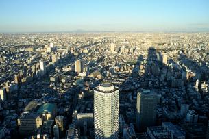 サンシャイン60展望台から見る高層ビルの影の写真素材 [FYI02310780]