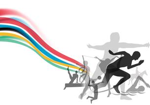 オリンピックイメージのイラスト素材 [FYI02311101]