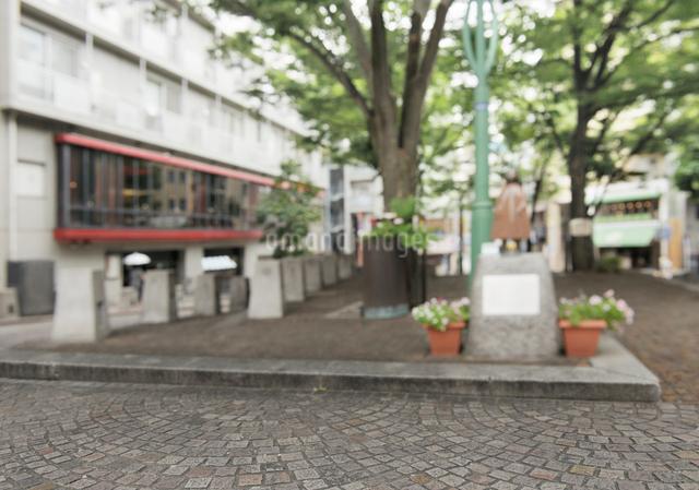 麻布十番パティオ広場の写真素材 [FYI02311163]