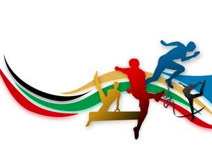 オリンピックイメージのイラスト素材 [FYI02311214]