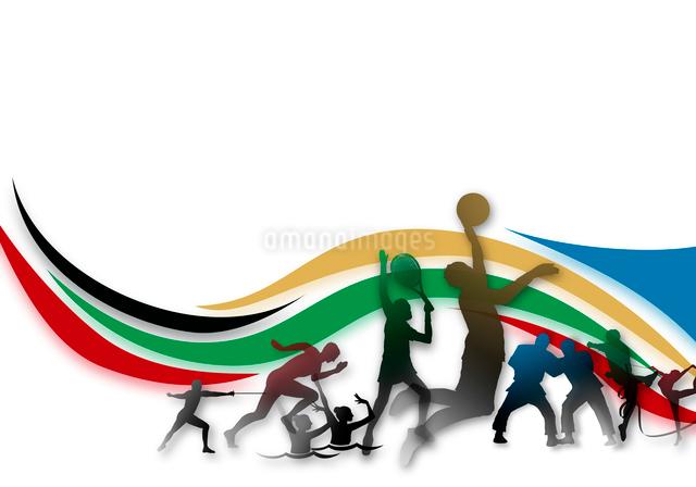 オリンピックイメージのイラスト素材 [FYI02311220]