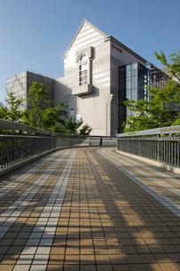 ポーリン橋と横浜人形の家の写真素材 [FYI02311277]