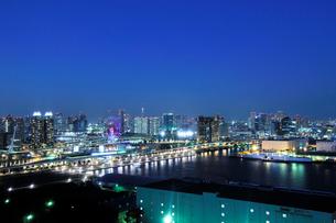テレコムセンター展望台より東京スカイツリー方向の眺めの写真素材 [FYI02311301]