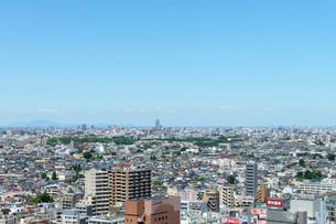 練馬区役所展望ロビーより北東方向の眺めの写真素材 [FYI02311354]
