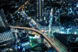 サンシャイン60展望台から豊島区役所方向を見下ろすの写真素材 [FYI02311496]