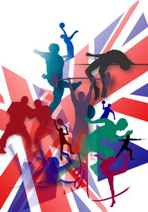 オリンピックイメージのイラスト素材 [FYI02311738]
