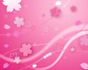 桜イメージのイラスト素材 [FYI02311761]