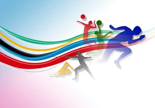 オリンピックイメージのイラスト素材 [FYI02311784]