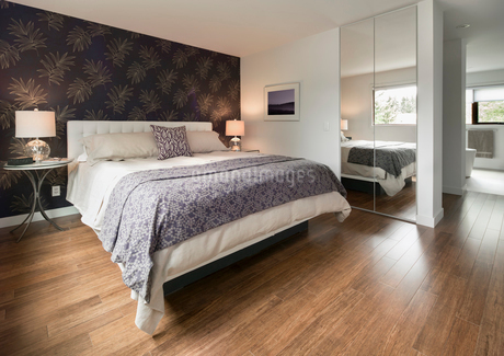 Home showcase bedroomの写真素材 [FYI02327887]