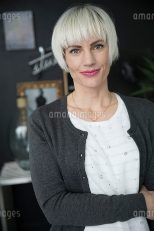 Portrait confident, ambitious womanの写真素材 [FYI02327991]