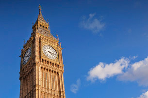 Big Ben, Westminster, London, England, United Kingdomの写真素材 [FYI02338490]