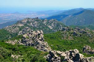 Granite formations, mountain region Monte dei Setteの写真素材 [FYI02338700]