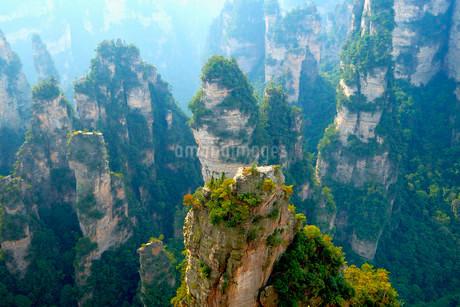 """""Avatar"""" mountains with vertical quartz sandstone rocksの写真素材 [FYI02338729]"