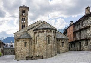 Romanesque church of Santa Maria de Taull, Unesco Worldの写真素材 [FYI02338822]