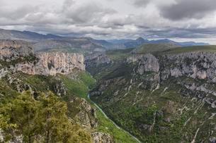 Gorges du Verdon, or Verdon Gorge, Departementの写真素材 [FYI02338970]