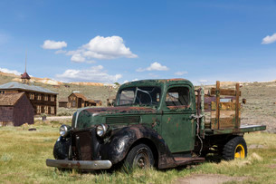 Bodie, ghost town, California, USA, North Americaの写真素材 [FYI02339079]