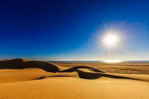Dunes of the Namib Desert, dune belt, Langstrand, also Longの写真素材 [FYI02339166]
